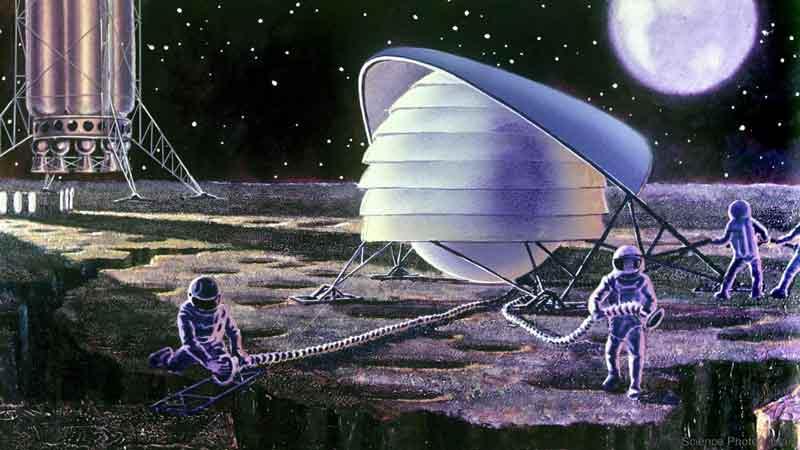 پایگاه فضایی در ماه