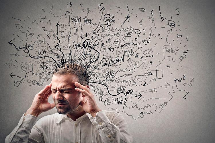 افکار منفی ازار دهنده