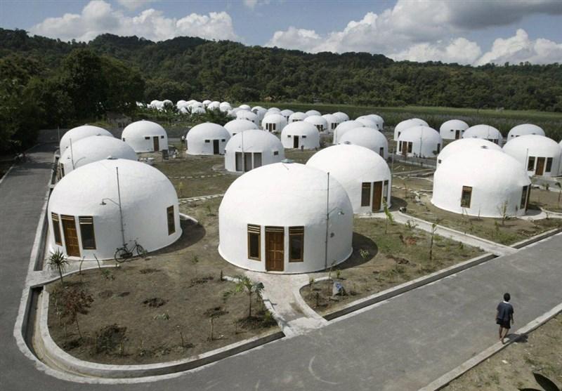 خانه های گنبدی درژاپن