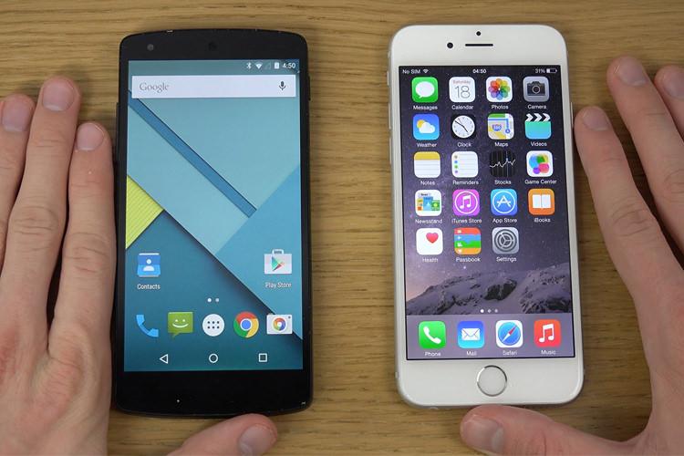 تفاوت گوشی های آیفون واندروید