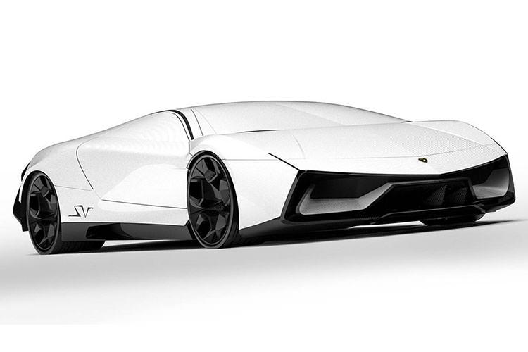 Lamborghini Pura SV / خودروی سوپراسپرت مفهومی لامبورگینی پیورا اسوی