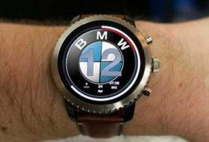 ساخت ساعت های هوشمند توسط شرکت بی ام و